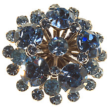 Buy Alice Joseph Vintage 1950s Diamante Brooch, Light Blue Online at johnlewis.com