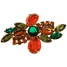 Buy Alice Joseph Vintage Diamante Stone Brooch, Multi Online at johnlewis.com