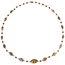 Buy Alice Joseph Vintage Italian Millefiori Necklace, Multi Online at johnlewis.com