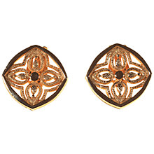 Buy Alice Joseph Vintage Hobé Gilt Plated Celtic Clip-On Earrings, Gold Online at johnlewis.com