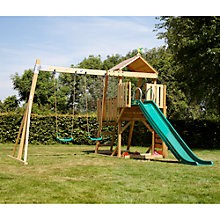 Buy TP Toys Kingswood2 Tower with Rapide Slide and Swing Arm Online at johnlewis.com