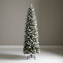 Buy John Lewis Snowy Slender Spruce Christmas Tree, 7ft Online at johnlewis.com