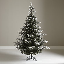 Buy John Lewis Skye Snowy Fir Christmas Tree, 7ft Online at johnlewis.com
