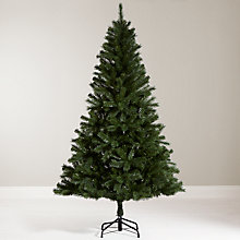 Buy 6ft Fireside Christmas Tree with LED Indoor/Outdoor lights 240 with timer, classic white Online at johnlewis.com