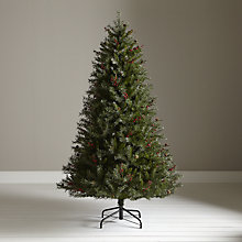 Buy John Lewis Bailess Berry & Cone Christmas Tree, 7ft Online at johnlewis.com
