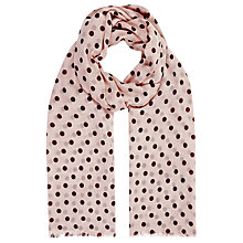 Buy Planet Spot Scarf, Oyster Online at johnlewis.com
