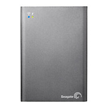 Buy Seagate Wireless Plus Mobile Storage Portable Hard Drive, Wi-Fi & USB 3.0, 1TB Online at johnlewis.com