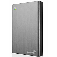 Buy Seagate Wireless Plus Mobile Storage Portable Hard Drive, Wi-Fi & USB 3.0, 2TB Online at johnlewis.com