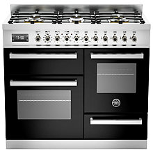 Buy Bertazzoni Pro Series Dual Fuel Range Cooker Online at johnlewis.com