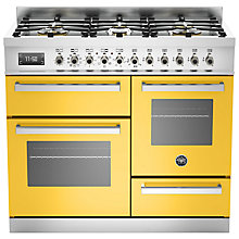 Buy Bertazzoni Professional Series Dual Fuel Range Cooker Online at johnlewis.com