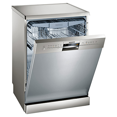 Image of Siemens SN26M880GB Freestanding Dishwasher, Stainless Steel