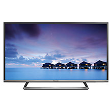 "Buy Panasonic Viera 40CS520B LED HD 1080p Smart TV, 40"" with Freeview HD and Built-In Wi-Fi with Monster HDMI Cable Online at johnlewis.com"
