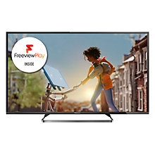 "Buy Panasonic Viera TX-50CX680B LED 4K Ultra HD Smart TV, 50"" with Freeview HD and Built-In Wi-Fi Online at johnlewis.com"