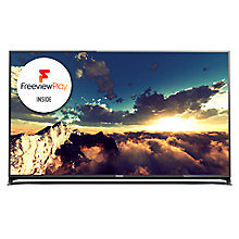 "Buy Panasonic Viera TX-55CX802B LED 4K Ultra-HD 3D Smart TV, 55"" with Freeview HD/freesat HD, Built-In Wi-Fi & Voice Assistant Online at johnlewis.com"