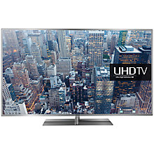 "Buy Samsung UE40JU6410 LED 4K Ultra HD Smart TV, 40"" with Freeview HD/freesat HD and Built-In Wi-Fi Online at johnlewis.com"