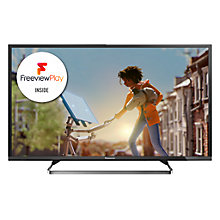 "Buy Panasonic Viera TX-40CX680B LED 4K Ultra HD Smart TV, 40"" with Freeview HD and Built-In Wi-Fi with Monster 4K HDMI Cable Online at johnlewis.com"