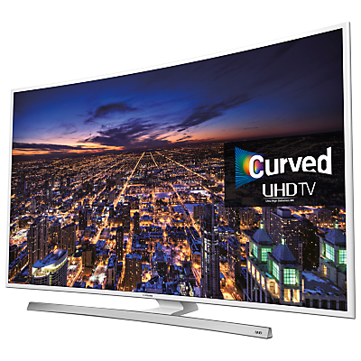 Samsung UE55JU6510 Curved 4K Ultra-HD Smart TV, 55