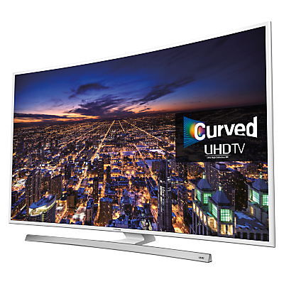 "Samsung UE40JU6510 Curved HDR 4K Ultra-HD Smart TV, 40"" with Freeview HD/freesat HD, Built-In WiFi and Intelligent Navigation"