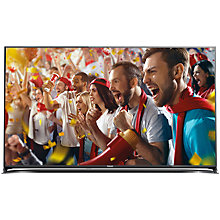 "Buy Panasonic Viera TX-65CX802B LED 4K Ultra-HD 3D Smart TV, 65"" with Freeview HD/freesat HD with Monster 4K HDMI Cable Online at johnlewis.com"