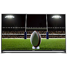 "Buy Panasonic Viera TX-50CX802B LED 4K Ultra-HD 3D Smart TV, 50"" with Freeview HD/freesat HD, Built-In Wi-Fi & Voice Assistant Online at johnlewis.com"