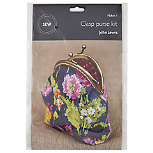 Buy John Lewis Clasp Purse Mini Sewing Kit Online at johnlewis.com