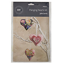 Buy John Lewis Hanging Hearts Mini Sewing Kit Online at johnlewis.com