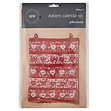 Buy John Lewis Christmas Advent Calendar Mini Sewing Kit Online at johnlewis.com