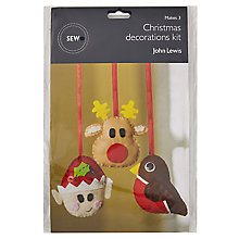 Buy John Lewis Christmas Decorations Mini Sewing Kit Online at johnlewis.com