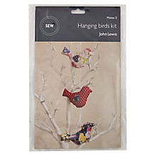 Buy John Lewis Hanging Birds Mini Sewing Kit Online at johnlewis.com