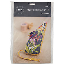Buy John Lewis Mouse Pin Cushion Mini Sewing Kit Online at johnlewis.com