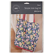 Buy John Lewis Simple Tote Mini Sewing Kit Online at johnlewis.com