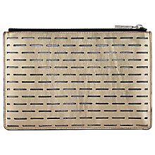 Buy Whistles Small Laser Leather Clutch Bag Online at johnlewis.com