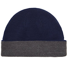 Buy John Lewis Reverse Beanie Hat Online at johnlewis.com