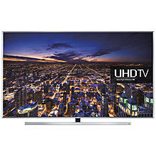 "Buy Samsung UE48JU7000 LED 4K Ultra HD 3D Smart TV, 48"" with Freeview HD/freesat HD and Built-in Wi-Fi Online at johnlewis.com"