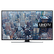 "Buy Samsung UE50JU6400 LED 4K Ultra HD Smart TV, 50"" with Freeview HD and Built-In Wi-Fi Online at johnlewis.com"