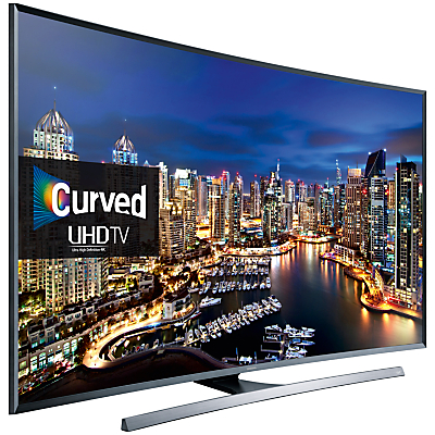 Samsung UE65JU7500 Curved LED 4K Ultra HD 3D Smart TV, 65
