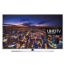 "Buy Samsung UE65JU7000 LED 4K Ultra HD 3D Smart TV, 65"" with Freeview HD/freesat HD with HW-J550 Wireless Soundbar Online at johnlewis.com"