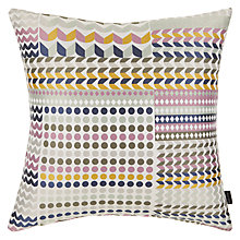 Buy Margo Selby for John Lewis Foxtrot Cushion, Multi Online at johnlewis.com