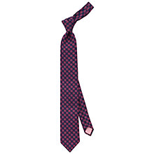 Buy Thomas Pink Holywell Floral Woven Silk Tie, Navy/Pink Online at johnlewis.com