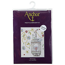 Buy Anchor Birdcage Freestyle Needlecraft Kit, Multi Online at johnlewis.com