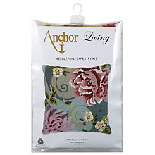 Buy Anchor Living Floral Swirl Needlecraft Kit, Multi Online at johnlewis.com