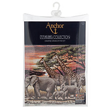 Buy Anchor African Sunset Counted Cross Stitch Kit Online at johnlewis.com