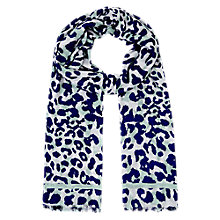 Buy Hobbs Adele Scarf, Mist Multi Online at johnlewis.com