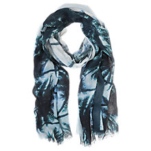 Buy Mint Velvet Silk Elise Print Scarf, Multi Online at johnlewis.com