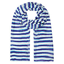 Buy Hobbs Brush Stripe Scarf Online at johnlewis.com