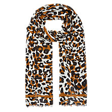 Buy Hobbs Adele Scarf, Gold Multi Online at johnlewis.com