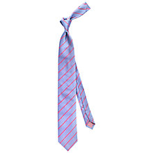 Buy Thomas Pink Dursley Stripe Woven Silk Tie Online at johnlewis.com