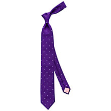 Buy Thomas Pink Birchill Spot Silk Tie Online at johnlewis.com