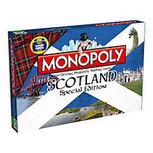 Buy Monopoly Scotland Edition Online at johnlewis.com