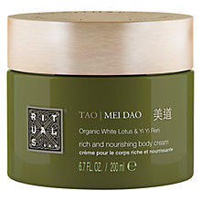 Buy Rituals Tao Mei Dao Rich Body Cream, 200ml Online at johnlewis.com